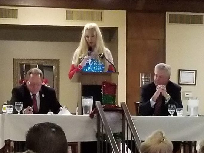 "Montgomery County Judge Debate: challenger Keough criticizes incumbent Doyal for ""Enron accounting"" in County government"
