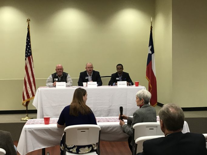 Montgomery County Judge Doyal, Commissioner Riley tell big lies during Tea Party candidate debates