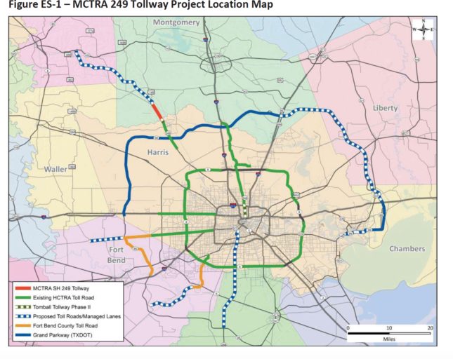 Doyal, Riley plan price-gouging tolls for Tx 249 Tollway to be among highest in America, as revealed in County government's secretive draft traffic and revenue study