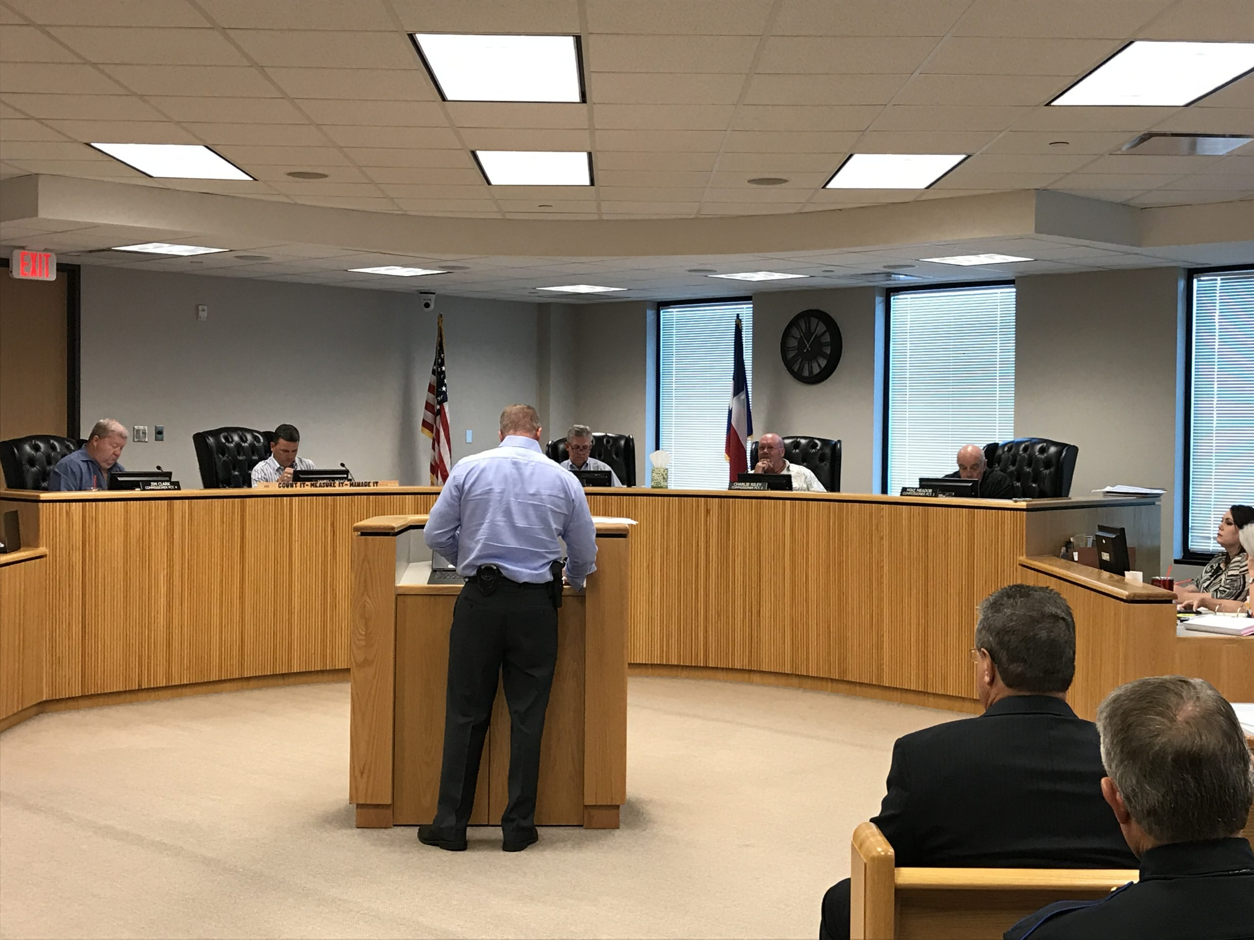 County Judge's proclaimed spending reduction is actually Noack's, Clark's spending reduction!