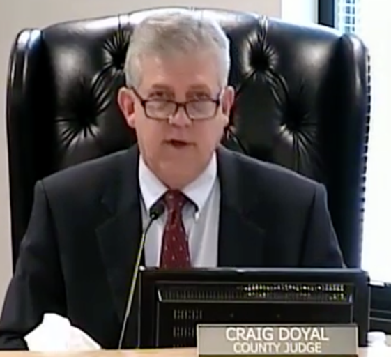 With bizarre comment about Harvey storm, Montgomery County Judge Doyal – consummate elitist – reveals all he cares about is bringing money into government