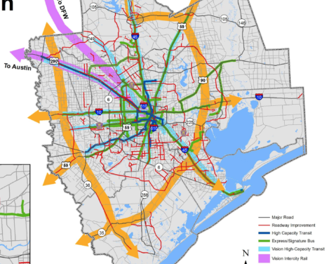 Repudiated at polls, Doyal panders to vendors by cramming HGAC Regional Transportation Plan down Montgomery County citizens' throats (yes, it includes Woodlands Parkway Extension!)