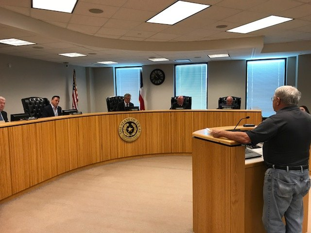 Riley, Doyal, Meador reveal opposition to removing SH 242 flyover tolls under all circumstances at May 8 Montgomery County Commissioners Court meeting