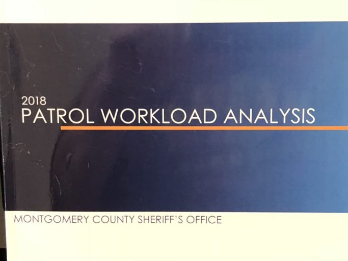 The Golden Hammer Exclusive: Montgomery County Sheriff Henderson releases potentially controversial 2018 Patrol Workload Analysis study