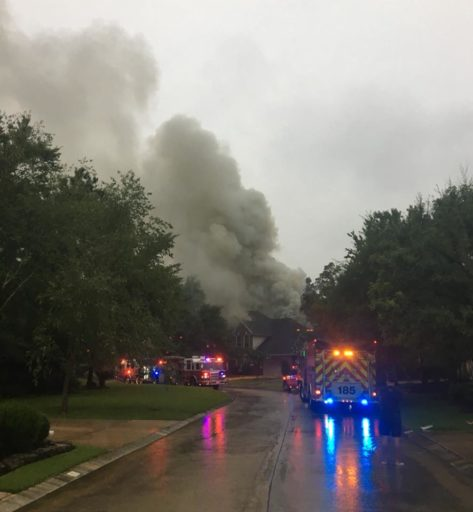 Breaking News! Afternoon Thunderstorms lead to two Montgomery County residential fires with lightning id'd as cause in both