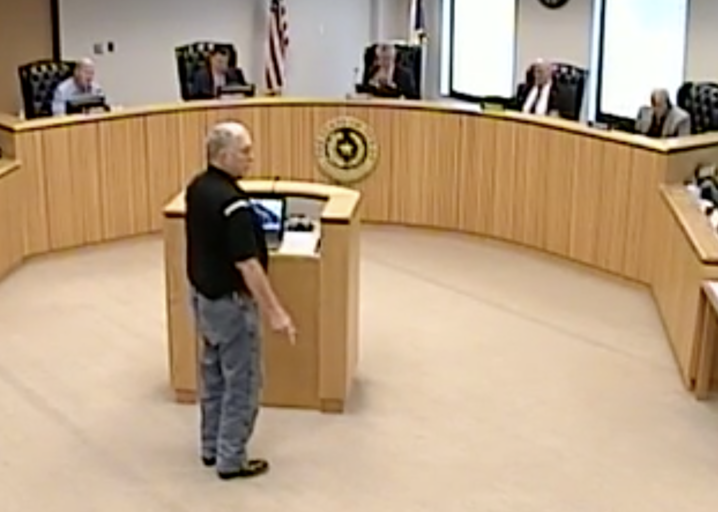 After approving Purchasing item on agenda during June 26 Montgomery County Commissioners Court meeting, both County Judge Doyal, Purchasing Director Jalomo have no idea the item was even there