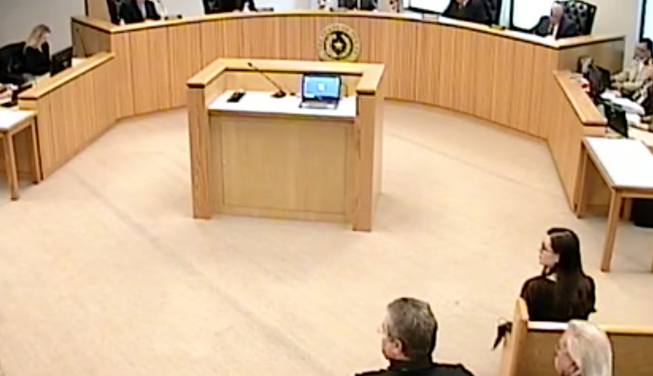 Commissioner Riley, County Judge Doyal back off from plans to terminate Montgomery County HR Director Shaw after opposition appears at Commissioners Court meeting