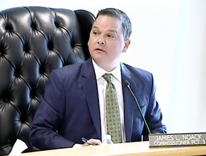"Montgomery County Commissioner Noack challenges secretive $12.3 million ""payment of accounts"" for first historic time, Riley utterly befuddled"