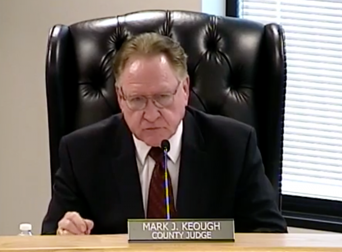 County Judge Keough beginning to show great conservative leadership, despite pro-Big-Government desires of majority of Montgomery County Commissioners Court