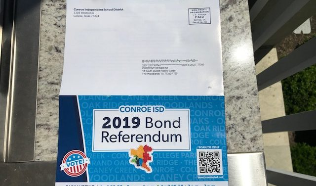 Conroe ISD's total lying and cheating time has arrived, Part 1 of 3: spending a fortune of YOUR tax dollars to convince you to vote for $807 million tax hike, bond