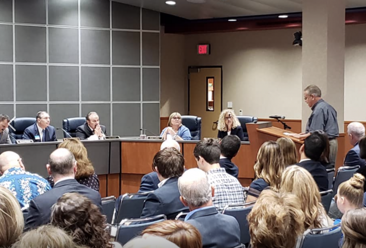 GOP Treasurer Wertz faces off with Conroe ISD Board of Trustees, sums up citizens' feelings