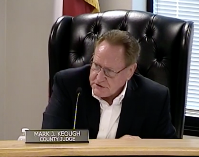 "Despite justifiable spending increases for law enforcement, ""People's Judge"" Keough continuing to lead Commissioners Court towards ""effective tax rate"""