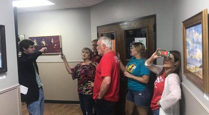"BREAKING NEWS! Gun Grabbers Triggered: ""Moms Demand Action"" group assaults activists attending Republican Party Vacancy Meeting in public hallway"