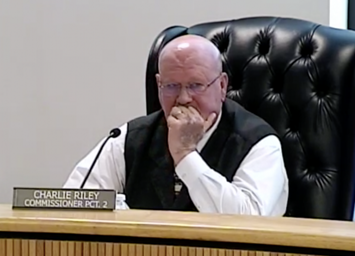 Riley's defensiveness about unpopular thoroughfare projects he put on Major Thoroughfare Plan casts negative pall over Commissioners Court meeting