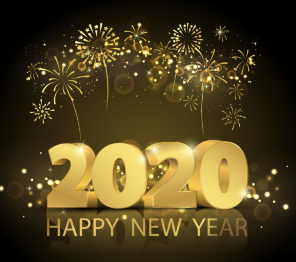 Happy 2020 from The Golden Hammer!