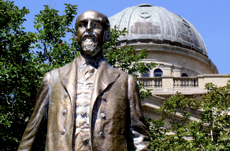 Texas Attorney General Paxton comes to defense of Texas A&M University's statue of Lawrence Sullivan Ross