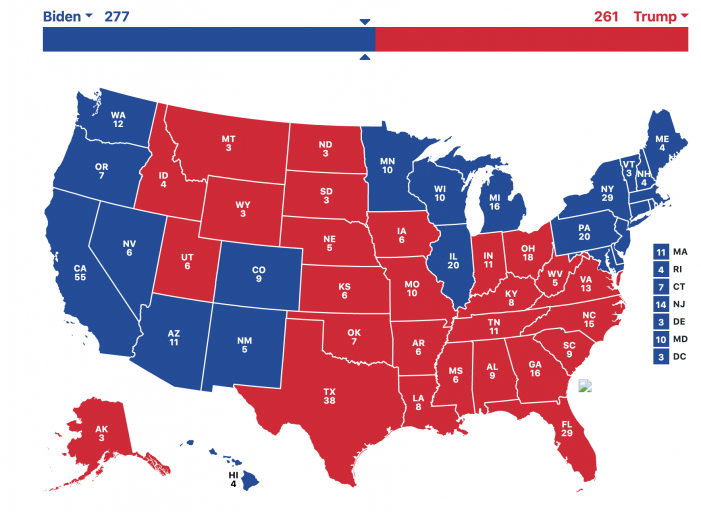 Election predictions haven't changed during past week, but AZ, PA Republicans working vociferously