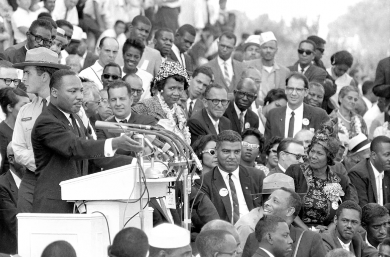 """Dr. King's """"I Have A Dream"""" speech (the greatest speech in American history) should unify us all behind American thought"""