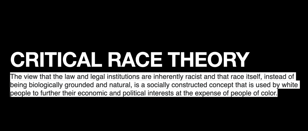 """Magnolia ISD pushes racist """"critical race theory"""" despite lies to contrary during school board trustee's electoral contest"""