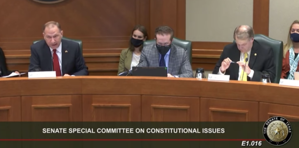 Constitutional Carry passes as clean bill out of Senate Constitutional Issues Committee