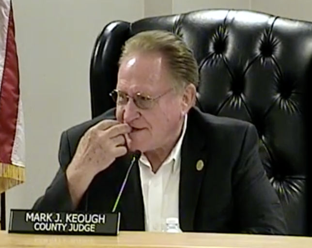 """Montgomery County Commissioners Court """"special session"""" on immigration will reveal whether Keough, Riley just pandering, or whether they're serious about reform"""