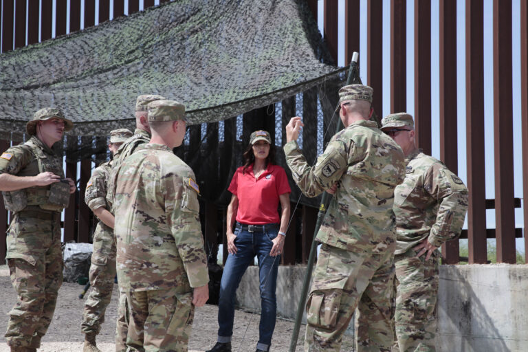 Governors Abbott, Noem send National Guard troops to Texas-Mexico border, since Biden has punted immigration enforcement responsibility